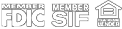 Verisign, Member FDIC, Member SIF, Equal Opportunity Lender