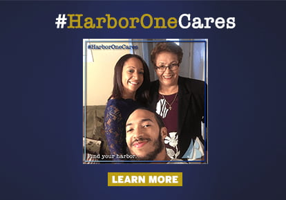 #HarborOneCares LEARN MORE