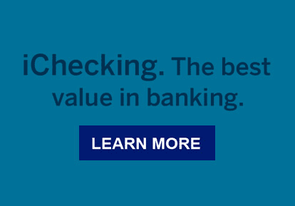 iChecking. The best value in banking. Learn more.