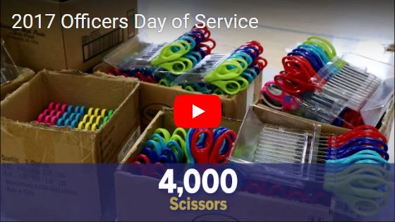 2017 Officers Day of Service...Learn More >
