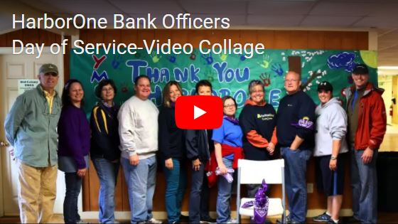HarborOne Bank Officers Day of Service...Learn More >